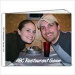 ABC Restaurant Game Book #1 - 9x7 Photo Book (20 pages)