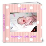Lilly s baby book - 8x8 Photo Book (20 pages)