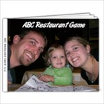 ABC Restaurant Game Book #2 - 9x7 Photo Book (20 pages)