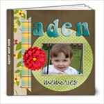 Aden Book 4 - 8x8 Photo Book (20 pages)