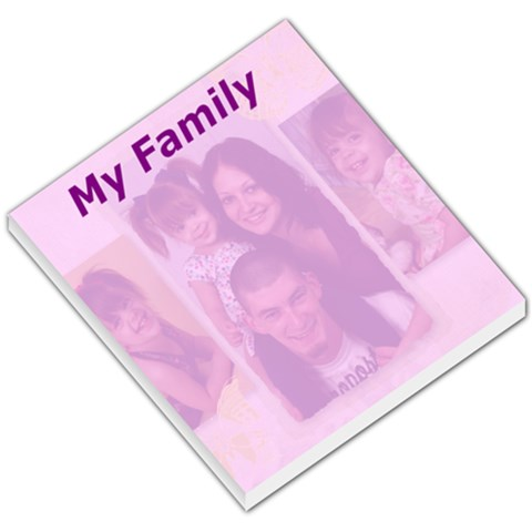 Sis Memo Pad By Tina   Small Memo Pads   Z8siaoqa49b8   Www Artscow Com