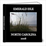 EMERALD ISLE 2008 - 8x8 Photo Book (20 pages)