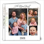 The Myers Family 2009 - 8x8 Photo Book (20 pages)