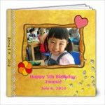 Emma 5th Birthday - 8x8 Photo Book (20 pages)