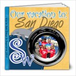 Sea world Sandiego book mom - 8x8 Photo Book (39 pages)