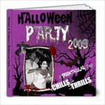 Francees 09 Halloween book - 8x8 Photo Book (20 pages)