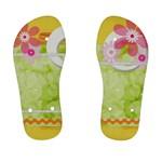 Flower - Kid s Flip Flops