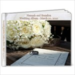 Wedding Book for the GP s - 9x7 Photo Book (20 pages)