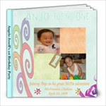 anjos first birthday photobook.. - 8x8 Photo Book (20 pages)