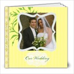 Susan & Nik Wedding - 8x8 Photo Book (20 pages)