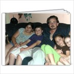 My Family - 9x7 Photo Book (20 pages)