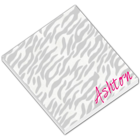 Zebra Notepad By Heather Schwab Sambilay   Small Memo Pads   Ct86rdupklgd   Www Artscow Com