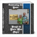 65th anniversary - 8x8 Photo Book (20 pages)