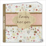 family recipes - 8x8 Photo Book (39 pages)