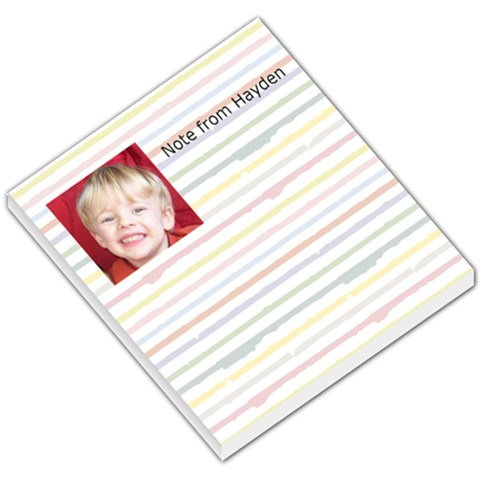Note From Hayden By Jay Page   Small Memo Pads   Tjz7bl8s1x6l   Www Artscow Com