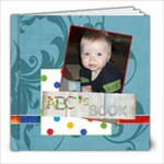 ABC s of Me - 8x8 Photo Book (20 pages)