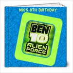 Nik 8th Birthday - 8x8 Photo Book (39 pages)