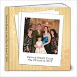 Carnival Dream Cruise 2010 - 8x8 Photo Book (39 pages)