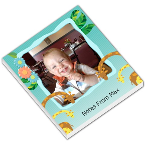 Notes From Max By Marcia Ray   Small Memo Pads   Zjz3eqtd132h   Www Artscow Com