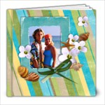 8x8 Beach Vacation, summer album - 8x8 Photo Book (20 pages)