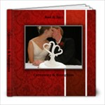 J&JCeremony/Reception - 8x8 Photo Book (20 pages)