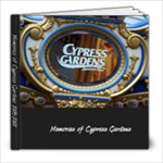 Cypress Gardens Memories - 8x8 Photo Book (20 pages)