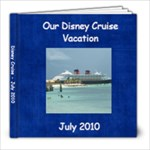 Disney Cruise 2010 - Grandma Grandpa Version - 8x8 Photo Book (39 pages)