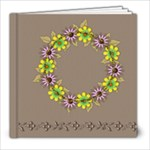 flower faith 8x8 - 8x8 Photo Book (20 pages)