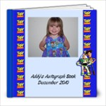 Addy s autograph book - 8x8 Photo Book (39 pages)