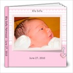 Ella-June 27 - 8x8 Photo Book (20 pages)