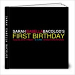 sarah photobook - 8x8 Photo Book (20 pages)