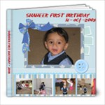 Shaheer Birthday Book - 8x8 Photo Book (20 pages)