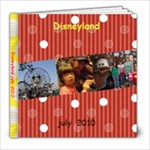 DISNEYLAND BACKGROUND - 8x8 Photo Book (39 pages)
