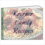 Koerner Family Recipe Book - 9x7 Photo Book (20 pages)