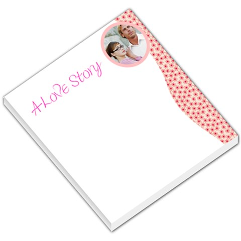 Love Story Dotted Sidebar By Gary Bush   Small Memo Pads   R7vquxh02xjp   Www Artscow Com
