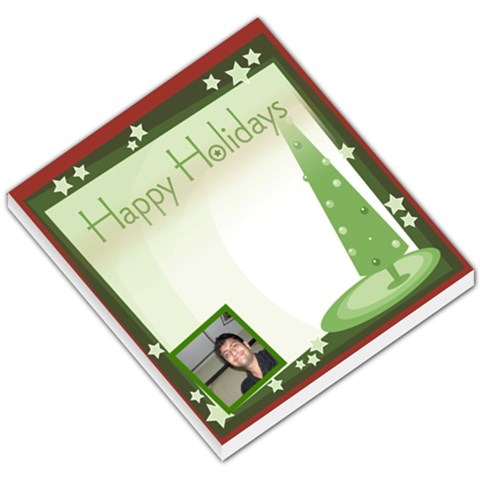 Xmas002 By Himmat   Small Memo Pads   Rx3xfprkdn00   Www Artscow Com