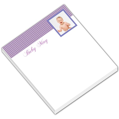 White Purple Header By Gary Bush   Small Memo Pads   Mtbdp3roi07z   Www Artscow Com