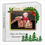 Sela s 1st Christmas - 8x8 Photo Book (20 pages)