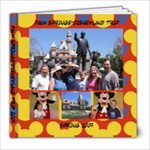 Disney trip - 8x8 Photo Book (39 pages)