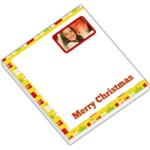 Yellow Border with Gift Boxes - Small Memo Pads