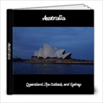 Australia - 8x8 Photo Book (20 pages)