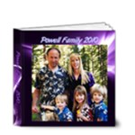 4x4 Powell Family Album - 4x4 Deluxe Photo Book (20 pages)