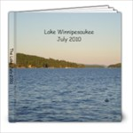 The Lake 2010 - 8x8 Photo Book (20 pages)