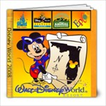 disney 12 x 12 - 8x8 Photo Book (20 pages)