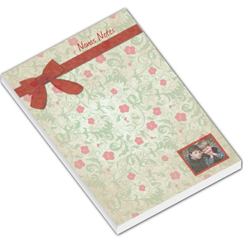 Nana s Notes Large Memo Pad By Wendy Green   Large Memo Pads   Noayeifnntmp   Www Artscow Com