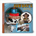 Nathans 6th Birthday Party - 8x8 Photo Book (20 pages)