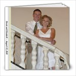 Elizabeth s wedding - 8x8 Photo Book (39 pages)