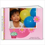 3rd bday party - Hello Kitty Princess - 9x7 Photo Book (20 pages)