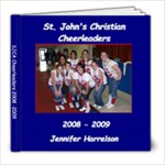 SJCA cheer book - 8x8 Photo Book (20 pages)