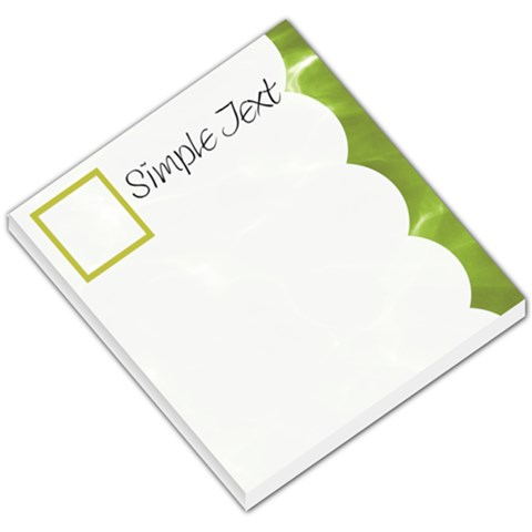 Memo Idea By Clince   Small Memo Pads   99c9ty2m0sec   Www Artscow Com